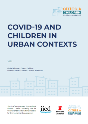 COVID19 and children in urban contexts